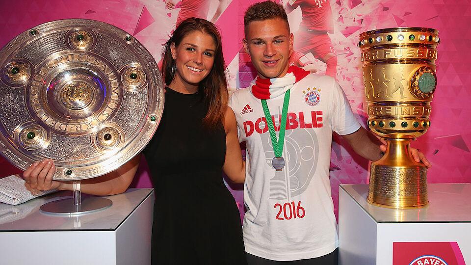 Die Bilder der Double-Feier des FC Bayern
