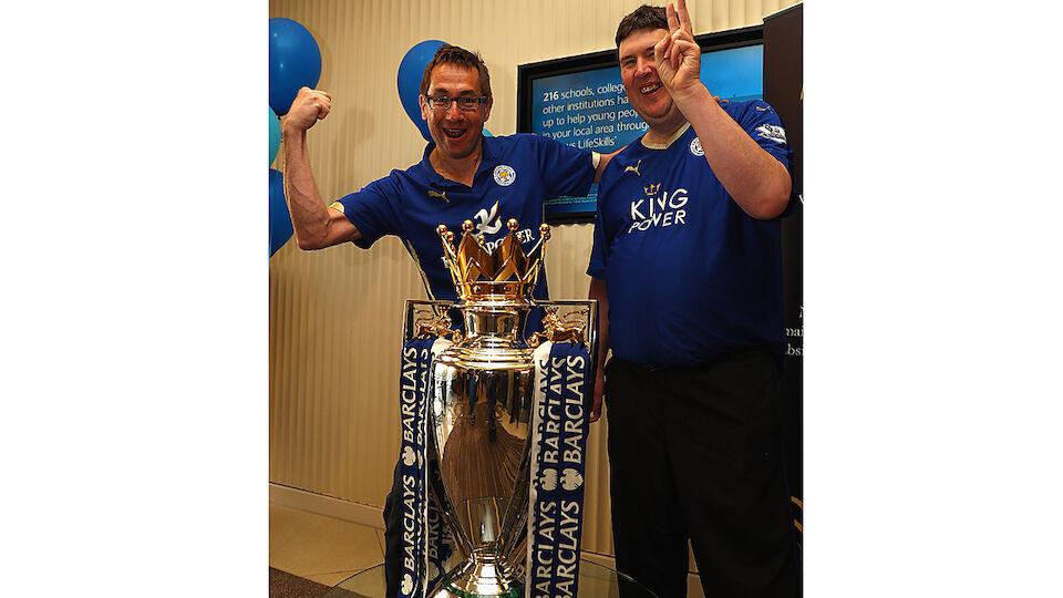 Leicester ist im Fußball-Fieber