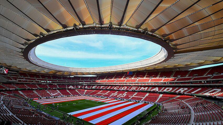 Atletico Madrid Neues Stadion