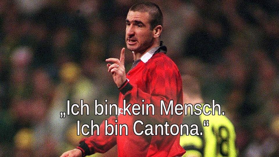 Zum 50er - Die besten Sprüche von Eric Cantona