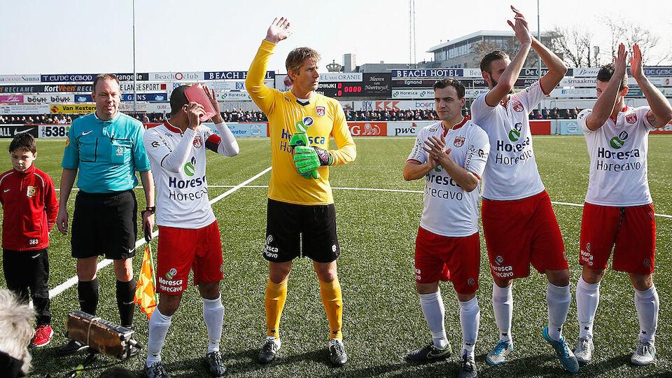 Edwin Van der Sars Comeback in Bildern