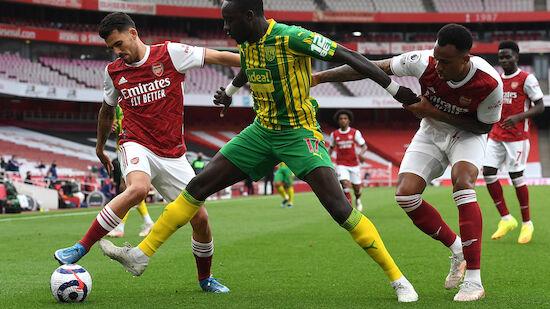 Arsenal besiegelt West Broms Abstieg