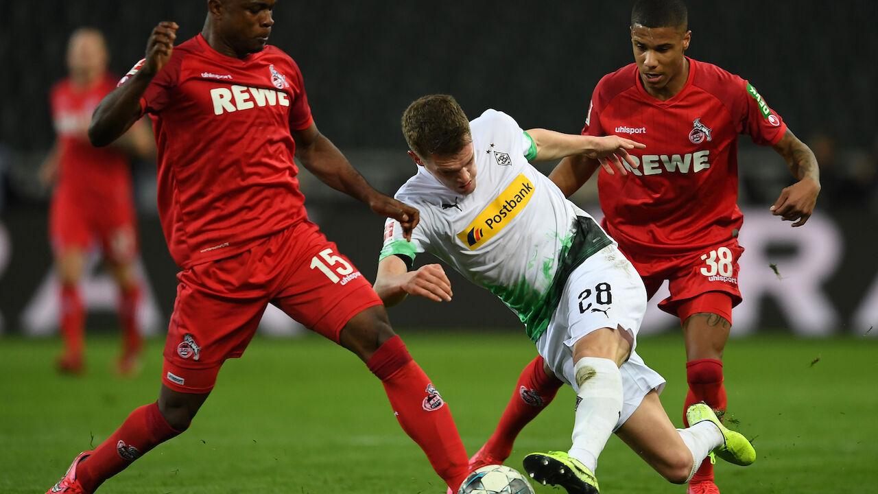 Bundesliga Köln Gladbach