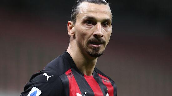 Milan-Star Zlatan Ibrahimovic am Knie operiert