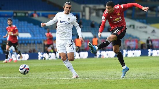 Manchester United spielt nur remis in Leeds