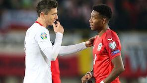 Polens Robert Lewandowski war vor ÖFB gewarnt