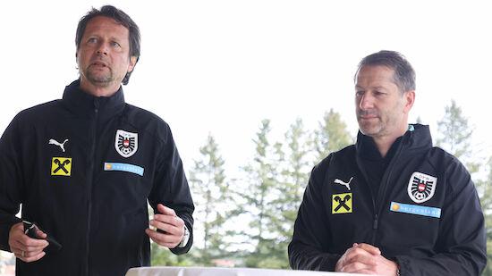 Schöttel bestätigt ÖFB-Teamchef Foda im Amt