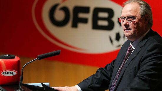 Gerhard Milletich wird neuer ÖFB-Präsident