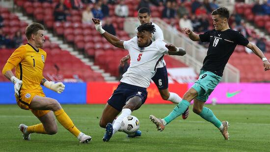Knappe ÖFB-Niederlage in England