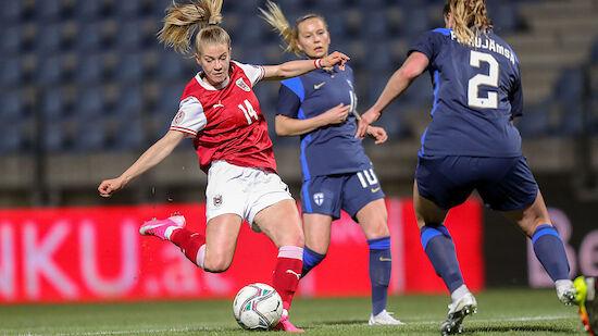 ÖFB-Damen verspielen 2:0-Führung gegen Finnland