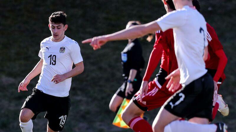 ÖFB-U17 startet mit sechs Toren in die EM-Quali