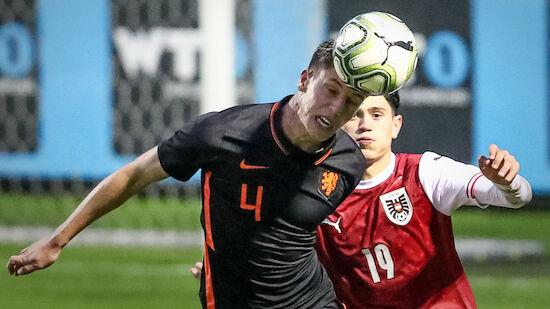 U18-Pleite nach 2:0-Führung gegen Niederlande