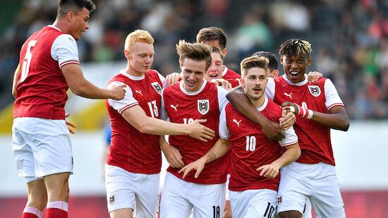 U21-EM-Quali: ÖFB-Auswahl feiert Auftaktsieg