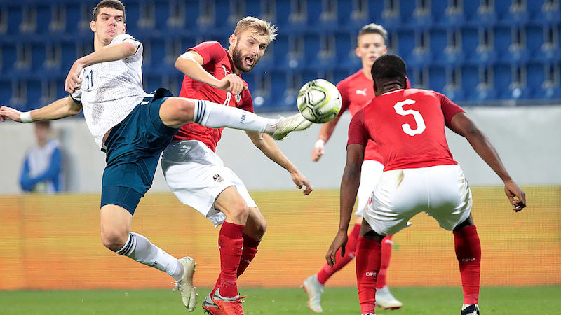 ÖFB-U21 fixiert das EM-Playoff