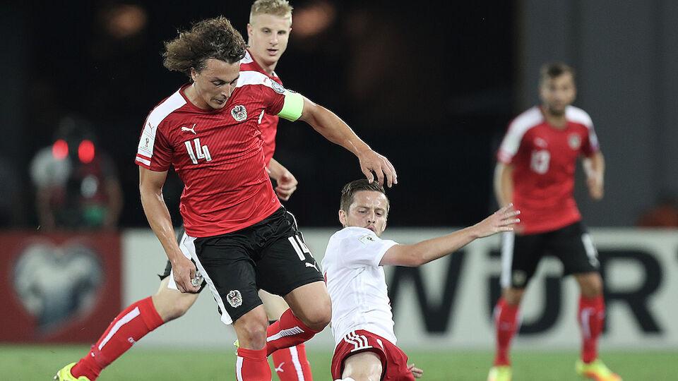 Die besten Bilder von Georgien gegen Österreich