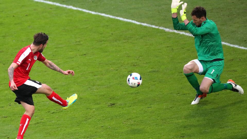 Die besten Bilder von Österreich gegen Albanien