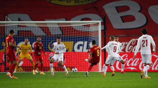 Belgien sichert sich Gruppensieg gegen Dänemark