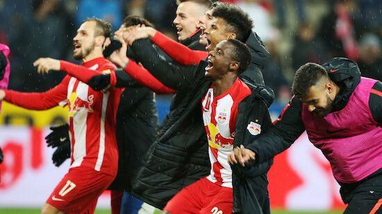Salzburg nach Sieg über den LASK im Cup-Finale