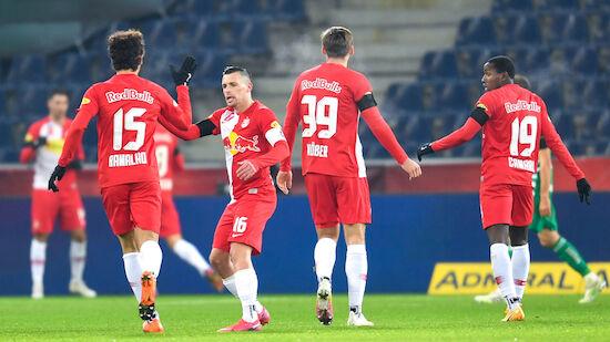 6:2! Salzburg demütigt Rapid im ÖFB-Cup
