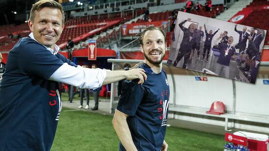 Cup-Sieg: Marsch und sein Team hauen auf den Putz