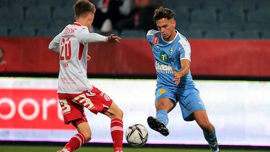ÖFB-Cup: WSG Tirol überspringt Hürde GAK