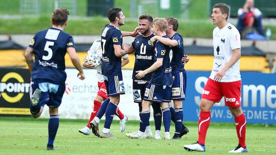 Dornbirn scheitert im ÖFB-Cup an St. Johann