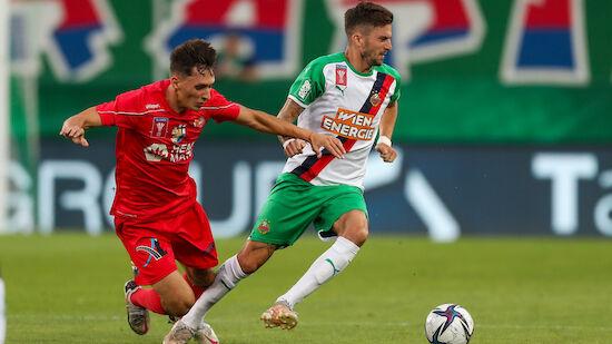 Rapid nach Sieg gegen Wr. Viktoria in 2. Cup-Runde