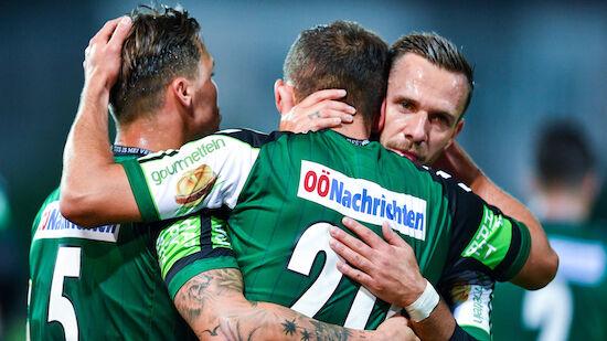 Ried bezwingt Vorwärts Steyr im Cup-Derby
