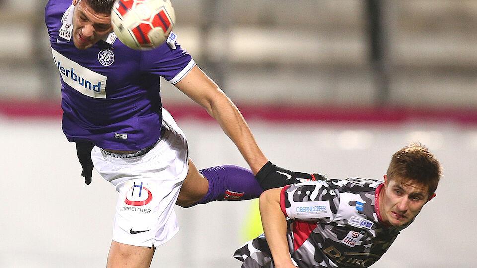 Die besten Bilder des ÖFB-Cup-Viertelfinales