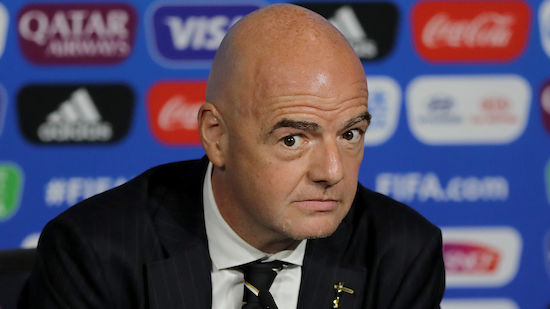 Infantinos Pläne: FIFA testet neue Abseits-Regel