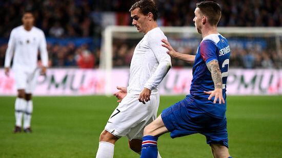 Frankreich wendet Pleite gegen Island ab