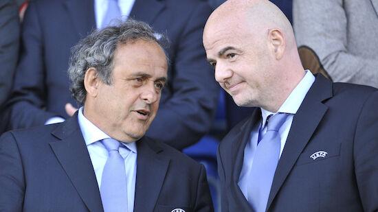 Platini fordert Infantino-Rücktritt