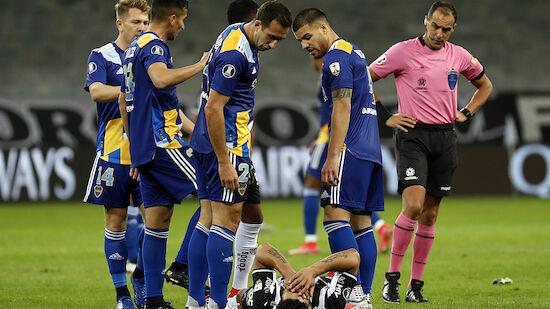 Copa Libertadores: Chaotische Szenen nach Boca-Aus