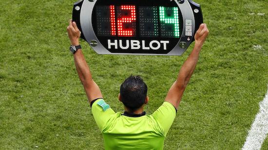 EURO: UEFA gibt grünes Licht für fünf Wechsel
