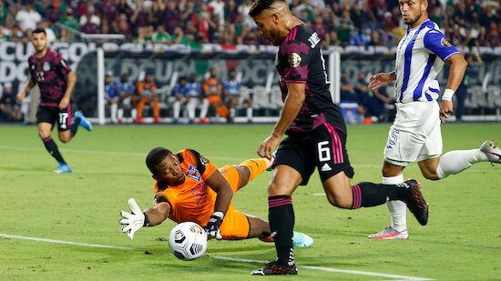 Mexiko souverän im Gold-Cup-Semi, Katar weiter