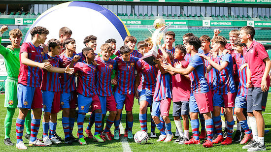 Barcelona triumphiert bei Rapid