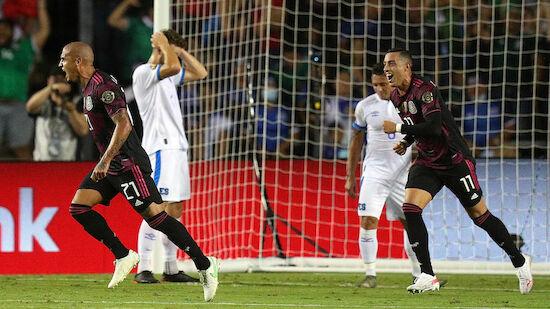 Rodriguez schießt Mexiko zum Gruppensieg
