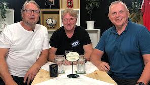 Ex-Schiri Fritz Stuchlik am Stammtisch bei Ogris