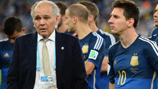 Argentinien trauert um Ex-Teamchef Sabella