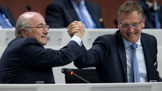 Blatter und Valcke von FIFA weiter gesperrt