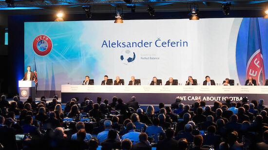 Wien 2022 wieder Schauplatz des UEFA-Kongresses