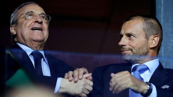 UEFA-Verfahren gegen Real, Barca und Juve