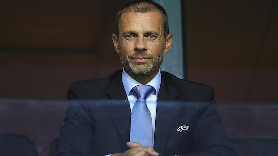UEFA: Wir sind der europäische Fußball, sie nicht!