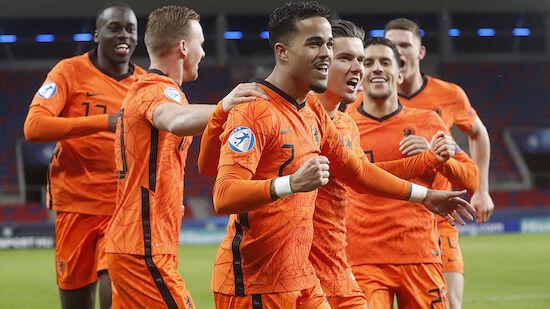 U21-EM: Niederlande wirft Frankreich raus