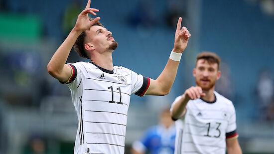 Deutschland nominiert Salzburg-Stürmer für U21-EM