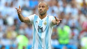 Zwei Argentinier treten zurück
