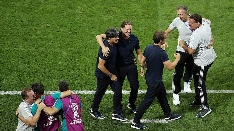 DFB-Team entschuldigt sich für Sieges-Jubel