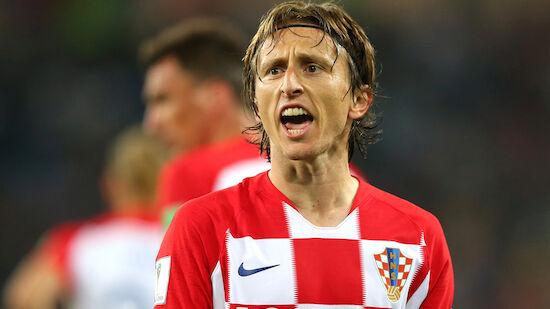Luka Modric: Erst Rekord, dann Tränen