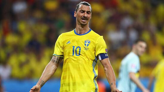 Tränen von Zlatan vor Team-Comeback für Schweden