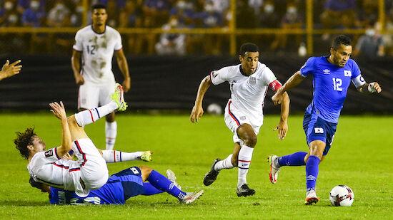 USA verpatzen Start in WM-Qualifikation